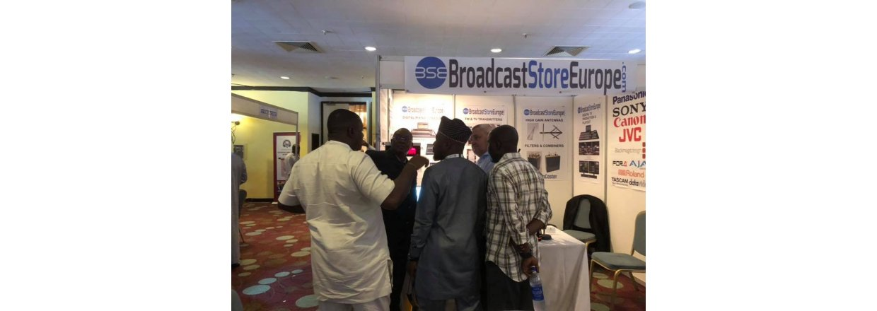 Broadcast Store Europe at Africast in Abuja