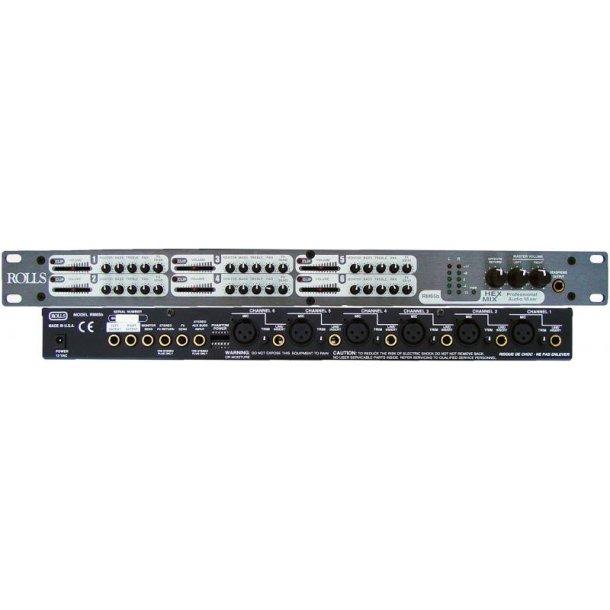 Rolls RM65b 6x4 Mixer 6ch Console Mixer