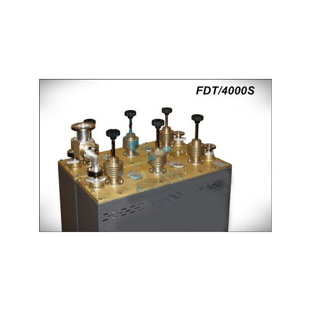 EuroCaster FDT/4000S FM Duplexer Starpoint Triple Coaxial Filters 2x2kW Aluminium