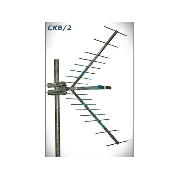 EuroCaster Corner Reflector Antenna, 500W, 9db, 380 - 530 MHz
