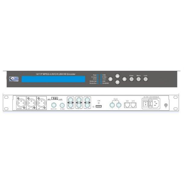 Eurocaster EC3211P MPEG-4 AVC/H.264 HD Encoder