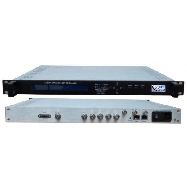 Eurocaster EC3221A MPEG-2 H.264 Magnum SD Encoder