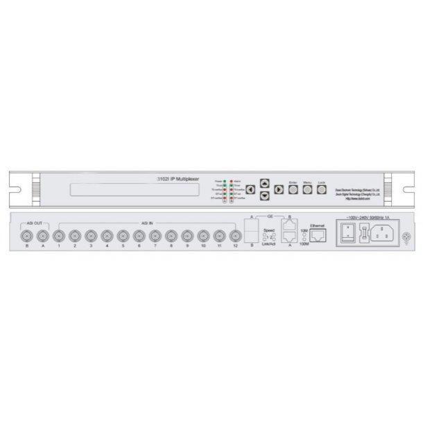 Eurocaster EC3102I EIT multiplexer