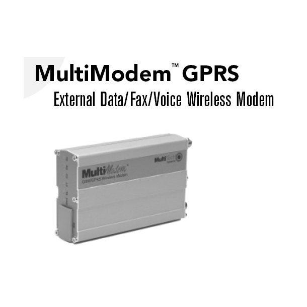 Multitech GSM modem. Seriel