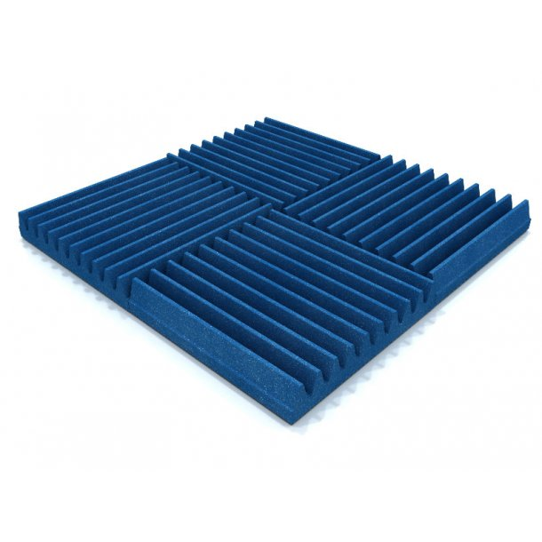 Acoustic Foam MP-30x30x5 Blue (16 piece) box