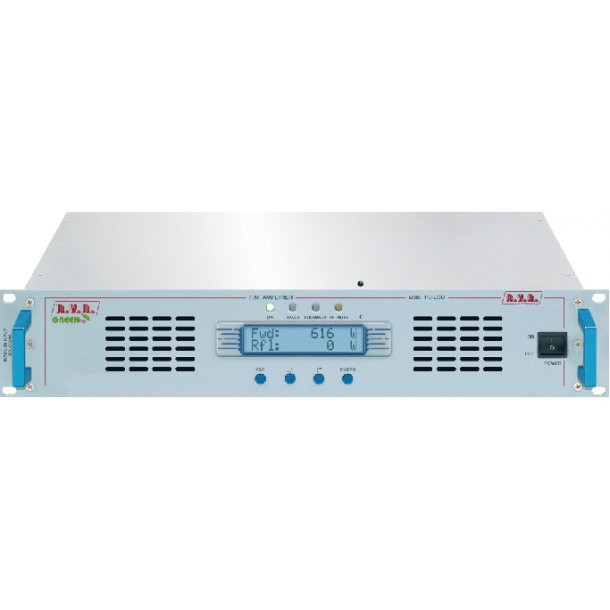 RVR PJ502C-LCD FM Power amplifier 500 Watt