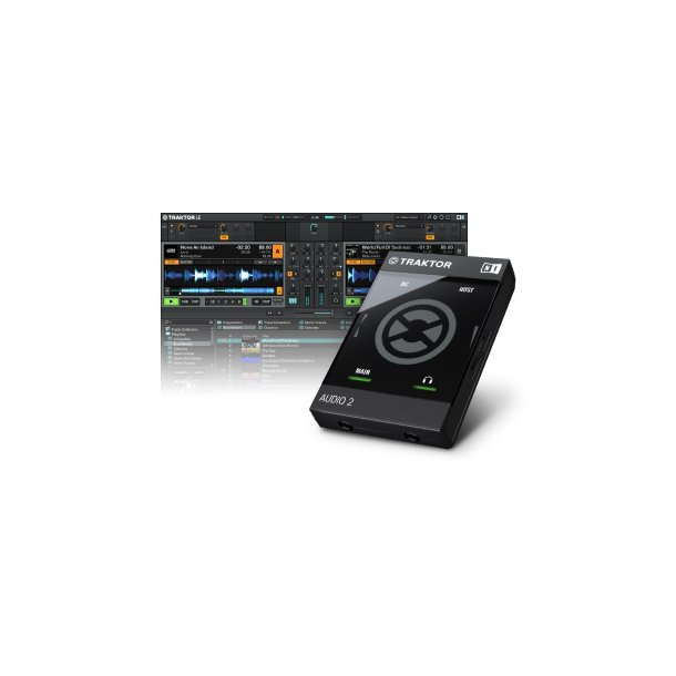 Native TRAKTOR Audio 2 Mk2 (22470) Sound Interface