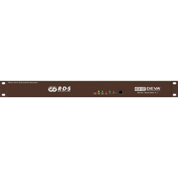 DEVA SmartGen 4.1 RDS Encoder w/LAN, USB & RS233