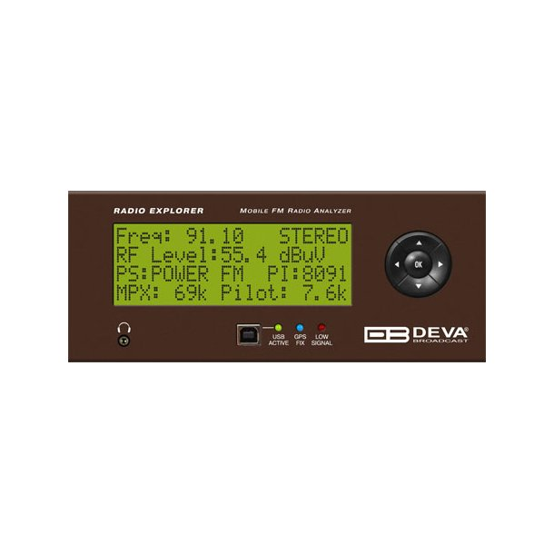 DEVA Radio Explorer Mobile FM Radio Analyzer