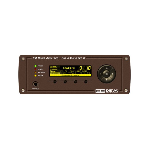 DEVA Radio Explorer II Mobile FM Radio Analyzer