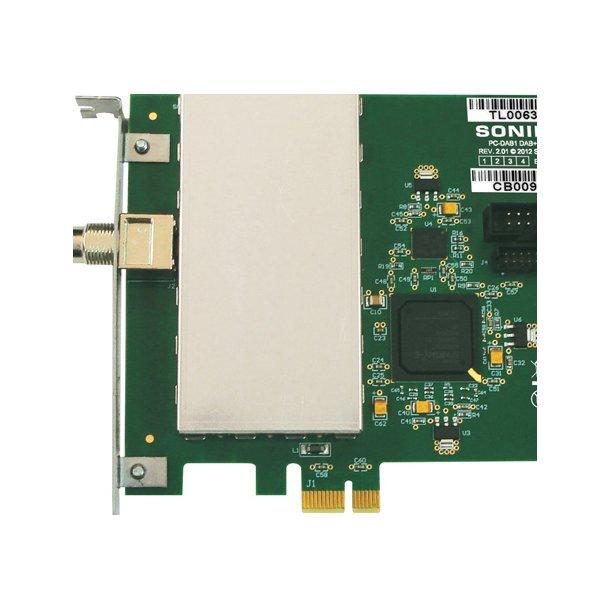 Sonifex PC-DAB DAB+ PCIe Radio Capture Card - 1 Ensemble