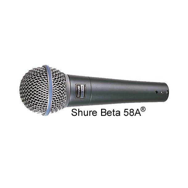 Shure Beta 58A Vocal Microphone Dyn