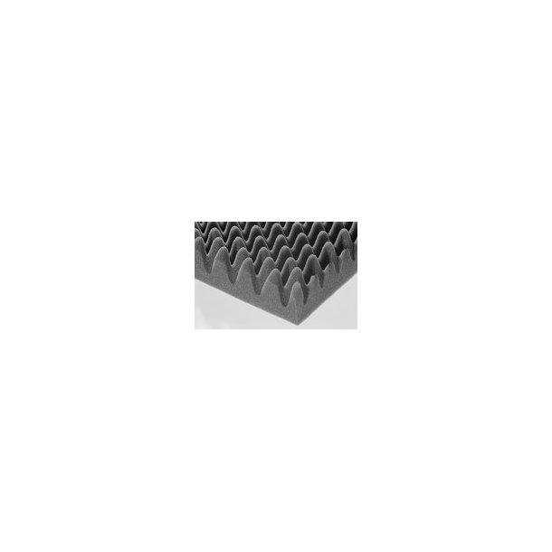 Acoustic foam MP30 200 x 100 cm grey