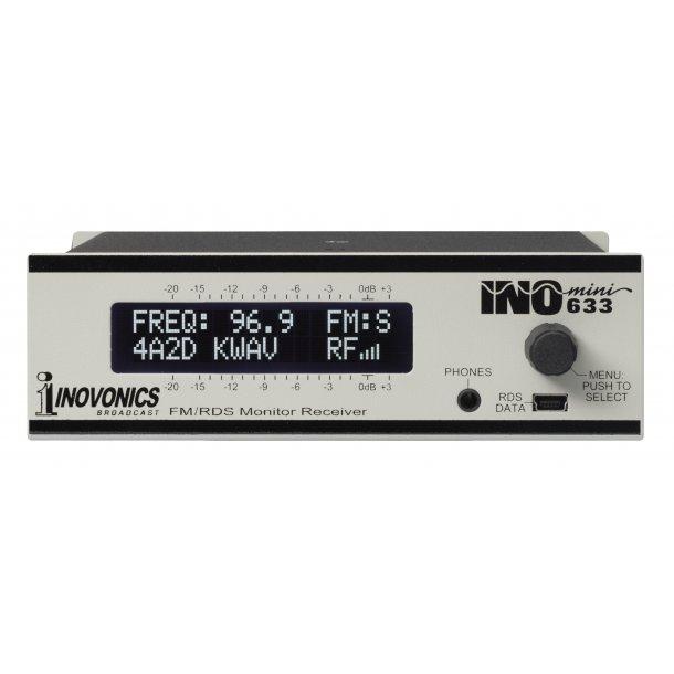 Inovonics 633 FM/RDS Monitor Receiver