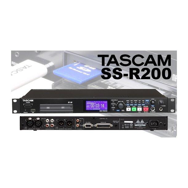 Tascam SS-R200 Recorder WAV/MP3/USB/SD