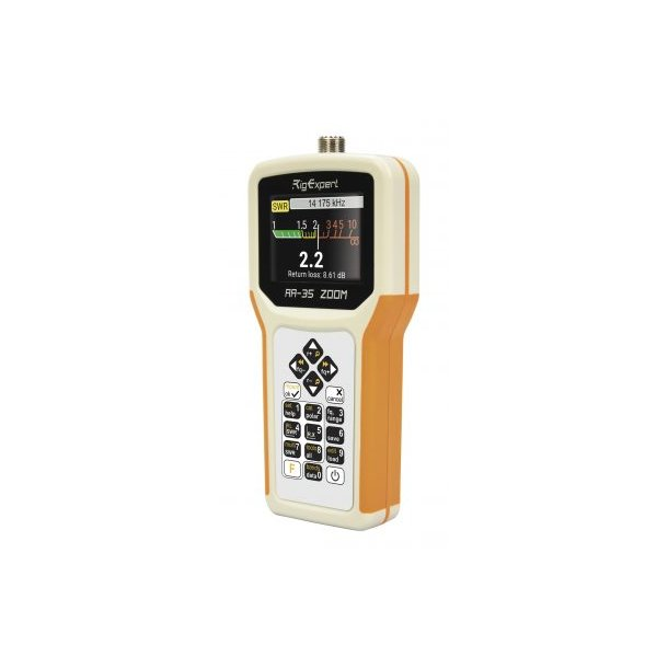 Rig Expert AA-35 ZOOM portable self-calibrating analyzer