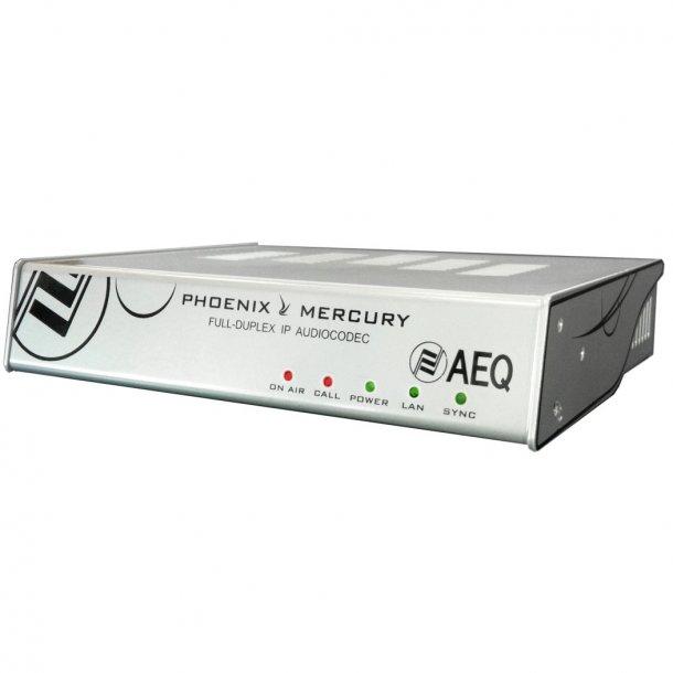 AEQ Phoenix Mercury IP Audio Codec Full Duplex