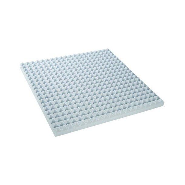 Adam Hall Pyramid Sound Absortion Foam 70 mm Light Grey