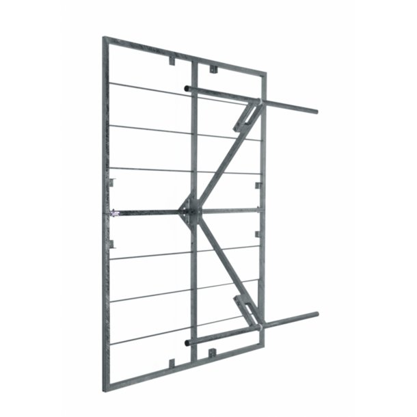 EuroCaster AKK/2M Double Dipole Wide Band FM Panel Antenna Stainless Steel 2kW