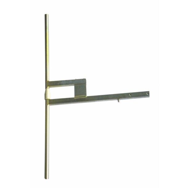 EuroCaster BKV/1 VHF (vertical) DAB Antenna alu