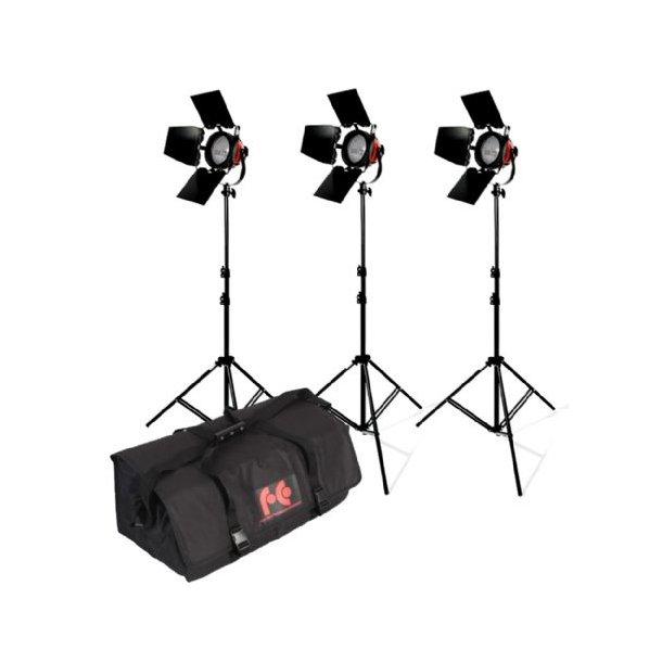 StudioKing Halogen Video Set TLR800-3 Dimmable