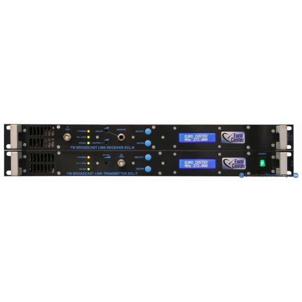 EuroCaster TX(ECL-TG)+RX(ECL-RG) MPX/Mono, 1,3-2,5GHz 5W