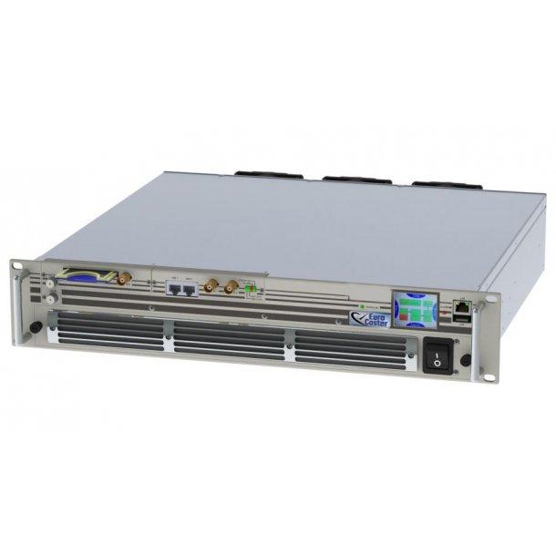 EuroCaster TX600/400V DVB-T2 UHF TV Transmitter 400W RMS /600W P.S. (analog)