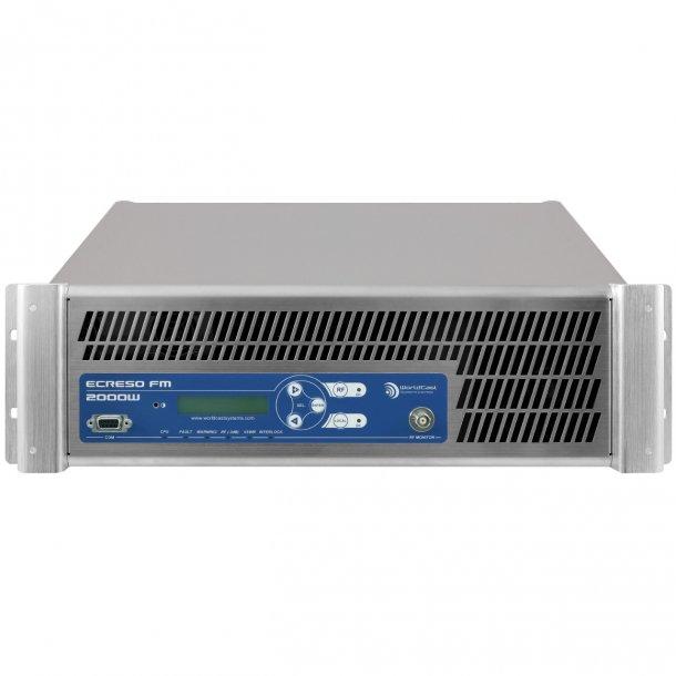 ECRESO FM 2000W Compact FM Transmitter