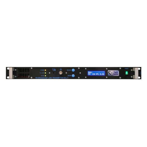 EuroCaster ECL-T MPX/Mono Transmitter 10 watt 170-960 Mhz