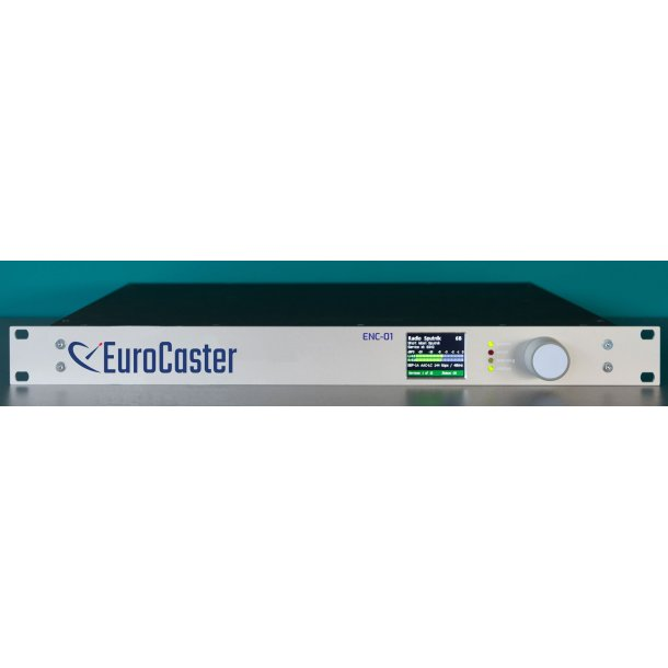 EuroCaster ENC-01 DAB+ Audio Encoder - 1 Channel