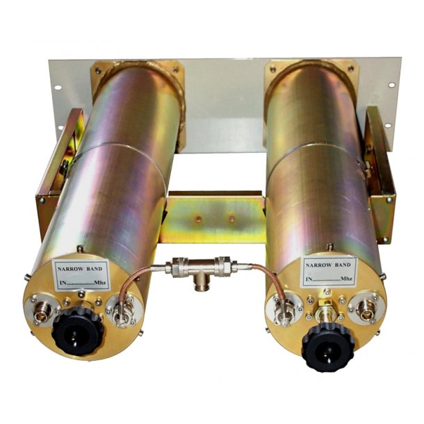 EuroCaster FDB/201S FM Duplexer Starpoint Double Coaxial Filters Combiners 2x100W Aluminium