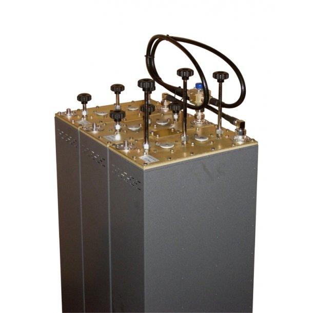 EuroCaster FTT/3000S FM Triplexer Starpoint Triple Coaxial Filters 3 x 500W Aluminium