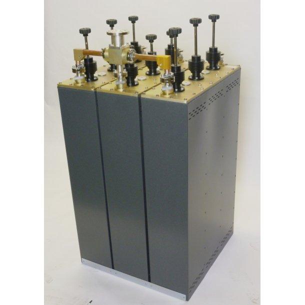 EuroCaster FTT/7500S FM Triplexer Starpoint Triple Coaxial Filters 3 x 2,5 kW Aluminium