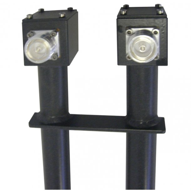 EuroCaster GAAF/2M Unbalanced FM Power Splitters 2 Out 4kW Aluminium