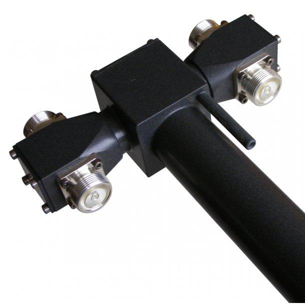 EuroCaster GAXS/4M FM Double Steps Power Splitters 4 Out 8kW Aluminium