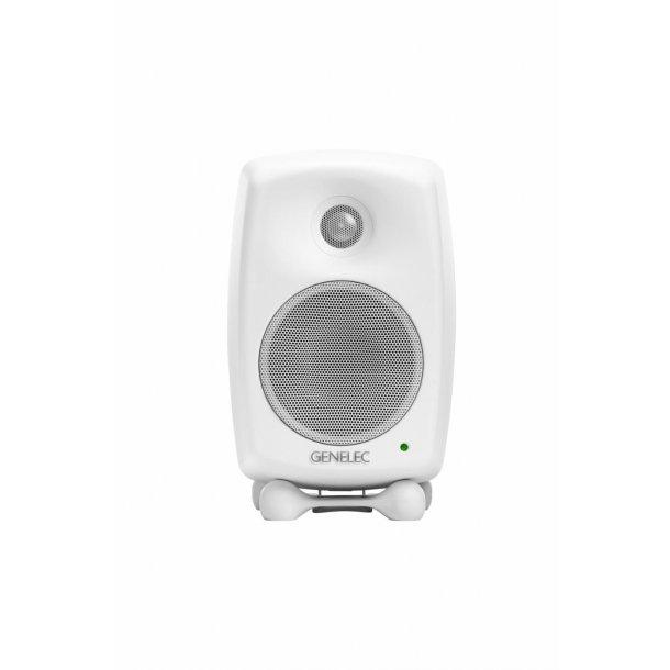 Genelec 8020DP Compact Two-way Studio Monitor, white