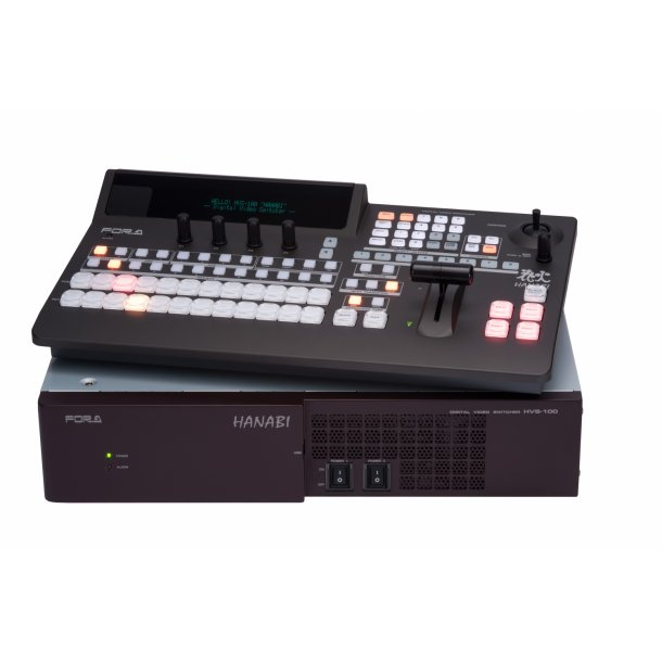 For-A HVS-100 HD/SD Portable Video Switcher-Main+Ctr unit