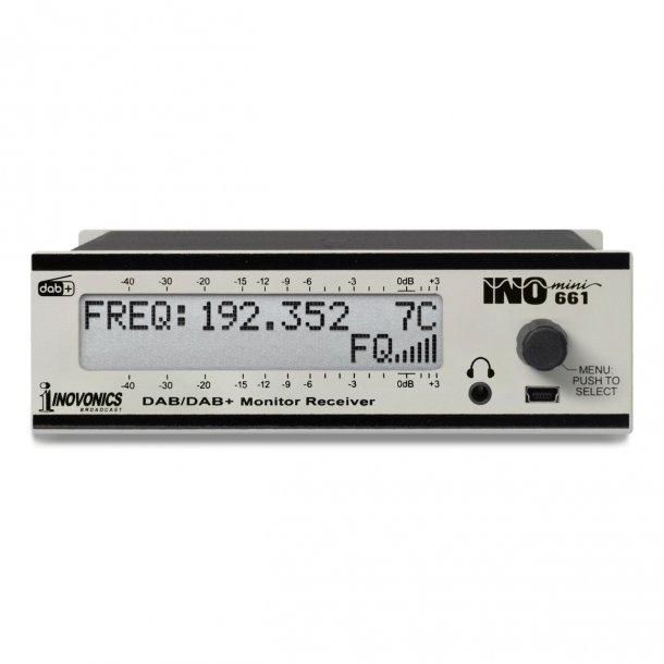 Inovconics INOmini 661 DAB/DAB+ Monitor/Receiver