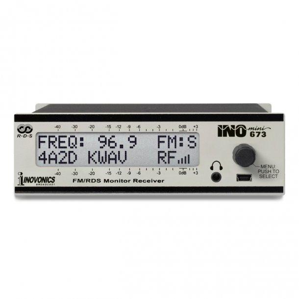 Inovonics 673 FM/RDS Monitor/Receiver
