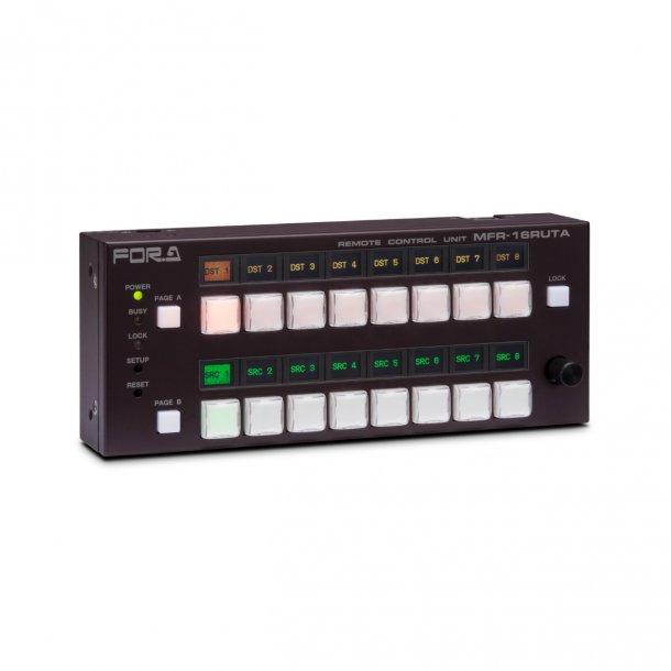 For-A MFR-16RUTA 16 Button Router Control Panel Desktop Version