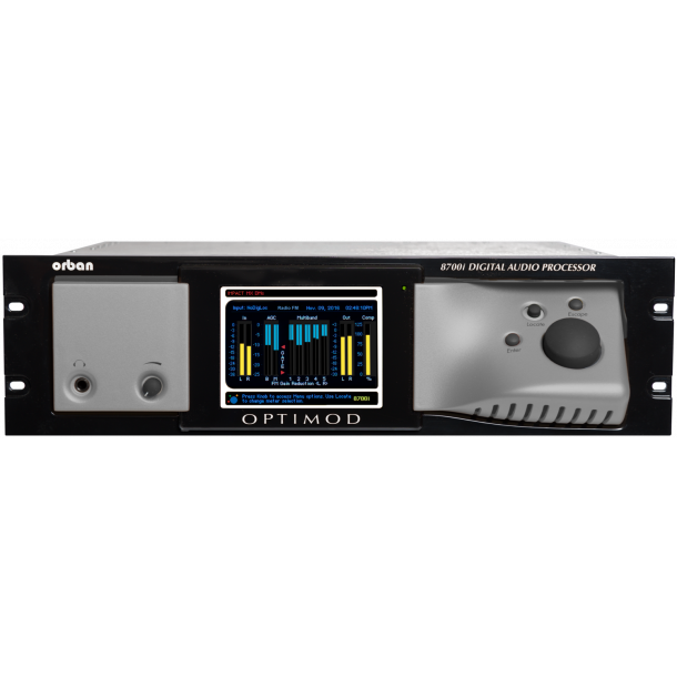 Orban Optimod 8700i FM+HD Digital Audio Processor + RDS