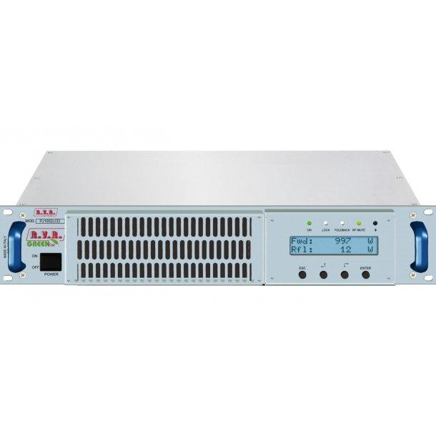 RVR PJ1002C-LCD FM Power amplifier 1000 Watt