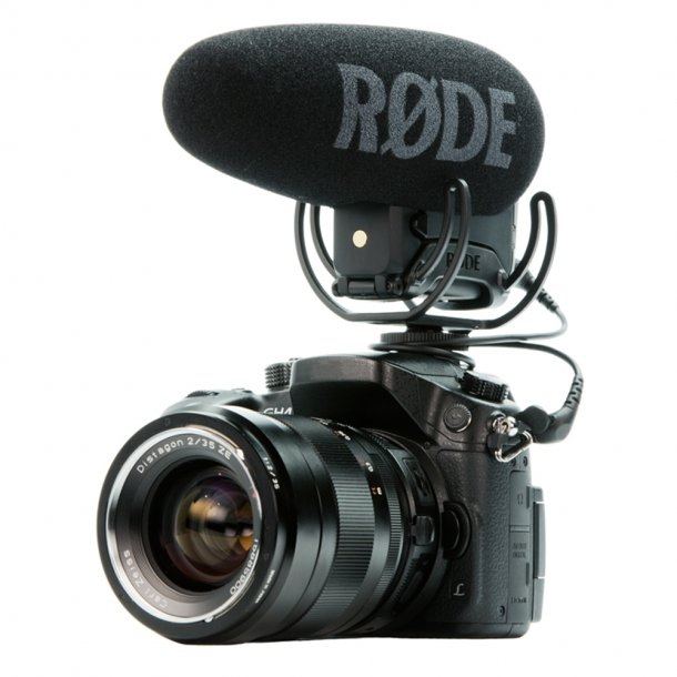 Røde VideoMic Pro+ Directional On-camera Microphone