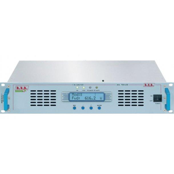 RVR TEX502LCD FM Transmitter 500 watt Stereo