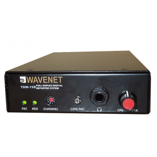 Wavenet TDM-16 digital Full-Duplex transmission and reception reporter  system