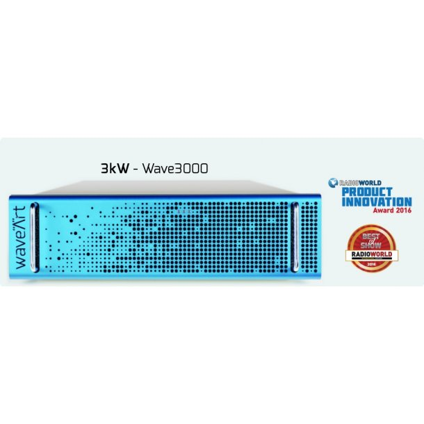 WaveArt Wave3000 Digital FM Transmitter - 3kW
