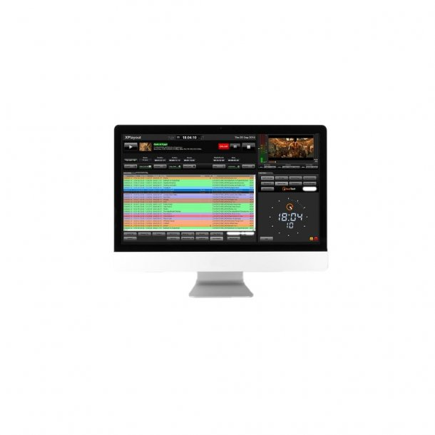 Axel XPLAYOUT TV-Automation play out software