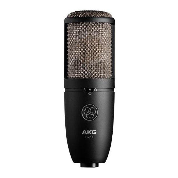 AKG P420 multi-pattern condenser microphone