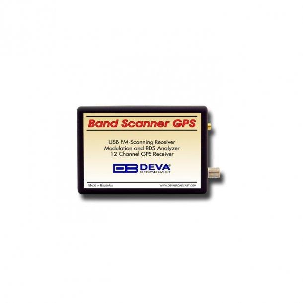 DEVA Band Scanner GPS - USB FM Scanning Receiver