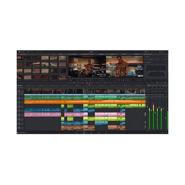 Blackmagic Davinci Resolve Studio Dongle Tv Editing Non Linear Broadcaststoreeurope Com